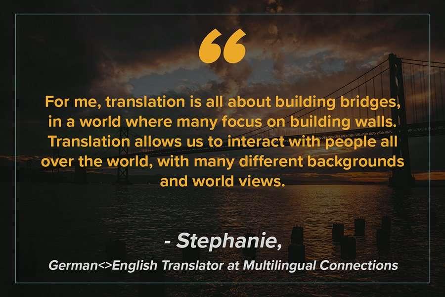 Stephanie Metaphor for Translation