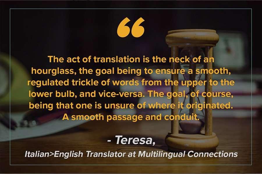 Teresa Metaphor for Translation