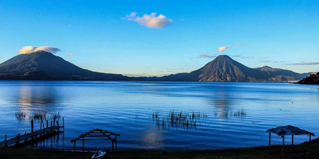 Many couples in Guatemala go on a weekend trip to the Atitlán Lake.